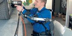 ErgoSanté fabrique notamment des exosquelettes pour soulager les salariés dans certaines postures de travail.