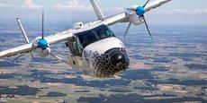 Le démonstrateur d'avion hybride-électrique Cassio 1 s'est envolé pour la traversée de la Manche.
