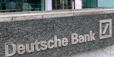 A titre d'exemple, dans une récente note publiée par l'association ShareAction, la Deutsche Bank est considérée comme le cinquième bailleur de fonds des combustibles fossiles en Europe.