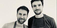Damien Romera et Cédric Vigne, cofondateurs de la plateforme de livraison de repas à domicile Sacré Armand.