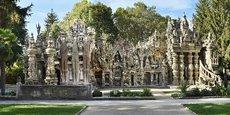 190.000 visiteurs ont admiré le palais idéal du facteur Cheval l'année dernière.