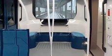 Les rames du Grand Paris Express.