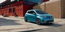 La Renault Zoé lancée en 2009 était pionnière sur le marché de la voiture électrique. Une avance qui semble en partie perdue pour Renault qui cherche à renouveler sa gamme.