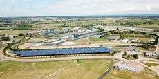 GreenYellow a livré récemment une installation une installation de 4,7 mWc (28.000m² d'ombrières photovoltaïques) au circuit de Magny-Cours.