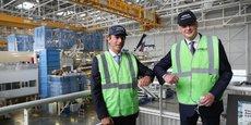 Bruno Le Maire était en visite chez Airbus, à Toulouse, vendredi 16 juillet.