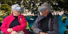 L'entreprise héraultaise Feel U propose aux séniors des voyages virtuel culturels ou immersifs.