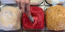 Au rayon des nouveautés de l'été, Terre Adélice vient de lancer plusieurs nouvelles saveurs de glaces (foin, bière, ou encore citronnelle et fleur de pois ou mojito). Son activité a pris un autre tournant depuis son référencement au sein du réseau de magasins Biocoop.