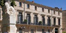 La façade de l'Hôtel de Richer de Belleval