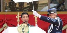 Andry Rajoelina, président de la République de Madagascar.