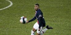 Kylian Mbappé, l'attaquant star du PSG.