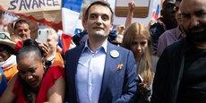 Le leader du mouvement Les Patriotes Florian Philippot, parrain zélé des antivax et  des opposants au pass sanitaire.