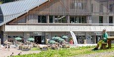 Le département des Vosges a aménagé au Col de la Schlucht un chalet destiné à la promotion de ses activités touristiques, pour 7 millions d'euros.