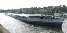 Politiquement correct, le transport fluvial ne remplacera jamais les flux routiers et ferroviaires, tous les trois complémentaires, selon Emmanuelle Blanchet, la présidente de R.Blanchet.