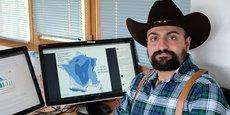 Serge Zaka, agriclimatologue chez ITK à Montpellier, et chasseur d'orages.