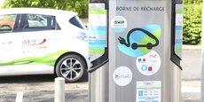 Le parc de bornes de Modulo, qui couvre trois départements du Centre Val de Loire, sera redimensionné en 2022 pour tenir compte de l'usage étendu des véhicules électriques. (© Benjamin Dubuis)
