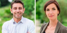 Jean-Sébastien Bessière et Katia Sigaud, désormais président et DG de Arkolia Energies.