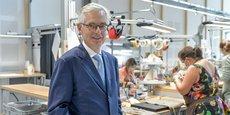 Emmanuel Pommier, directeur général du pôle artisanal Hermès maroquinerie-sellerie.