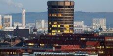 Siège de la BRI, la banque centrale des banques centrales, à Bâle en Suisse.