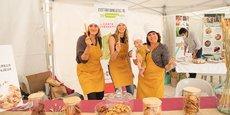 Louise Doulliet, Alix Guyot et Katia Tardy, trois ingénieures en agroalimentaire pilotent le projet Handi-Gaspi qui associe à la fois économie circulaire, inclusion et alimentation biologique. Il a rempoté le premier prix du Concours national de la création agroalimentaire biologique.