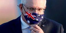 Le Premier ministre australien Scott Morrison