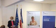 Fabienne Buccio préfète de Gironde et Nouvelle-Aquitaine lors de la conférence de presse