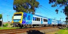 Le train X'Trapolis, d'une capacité de 1.240 personnes, est en service à Melbourne et également à Adelaide.
