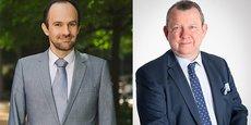 Yann-Gael Amghar, le directeur général de l'Urssaf Caisse nationale, et François Hiebel, directeur régional Urssaf Languedoc-Roussillon, ont évoqué à Montpellier les dispositifs mis en place par l'Urssaf pour accompagner les entreprises dans la reprise.