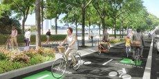 Ces nouvelles pistes, imaginées au sein d'un nouveau réseau de près de 400 km de voies cyclables à l'échelle de 49 des 59 communes de la Métropole, seront conçues pour être larges (entre 3 et 4 mètres), permettre les dépassements, l'accompagnement des enfants ou encore l'absorption des bouchons aux intersections.
