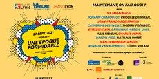 Le 27 septembre de 8h30 à 18h30, ils seront tous sur la scène, majestueuse, du Théâtre des Célestins de Lyon.