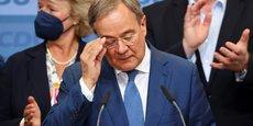 ALLEMAGNE: LASCHET (CDU) VEUT TENTER DE BÂTIR UNE COALITION GOUVERNEMENTALE