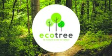 Sur la plateforme, le client dispose d'une estimation du nombre d'arbres à planter pour capter l'équivalent carbone issu de ses campagnes sur le long terme.