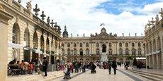 Les métropoles du Grand-Est (ici, la Place Stanislas à Nancy) vont partager les bénéfices de la reprise économique avec les territoires périphériques.