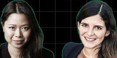 Kat Borlongan (à gauche) est remplacée par Clara Chappaz (à droite) à la tête de la Mission French Tech.