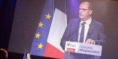 Le Premier ministre Jean Castex en clôture du congrès des régions le 30 septembre.
