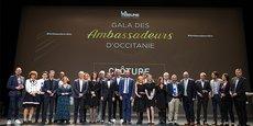 Le Gala des ambassadeurs d'Occitanie a réuni environ 500 acteurs économiques et institutionnels de la région le 4 octobre, à l'Opéra Comédie de Montpellier.