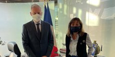 Le ministre de l'Economie, des Finances et de la Relance Bruno Le Maire a reçu, à Bercy le 5 octobre dernier, la présidente (PS) de l'association d'élus Régions France Carole Delga.