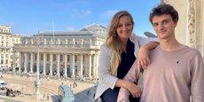 Clara et Valentin Morel, sœur et frère, ont fondé Locomotiv' en 2018. Cette entreprise emploie aujourd'hui une dizaine de permanents et fédère une soixantaine de freelances