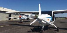 L'Enac dispose depuis la rentrée de deux Velis Électro utilisés en début de formation des pilotes.