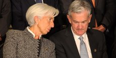 Christine Lagarde (BCE) et Jerome Powell (Fed)