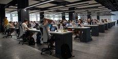 Avec l'impact du Covid des questions se posent, en particulier sur l'avenir des bureaux en espace ouvert.