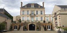Le siège de la maison de champagne Bollinger à Ay (Marne).