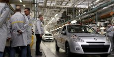 Dans l'industrie automobile, les tensions sur l'approvisionnement restent extrêmement élevées.