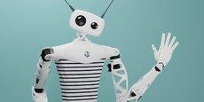Reachy dispose de deux bras articulés, il peut fonctionner de façon autonome ou être téléopéré.