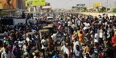 MANIFESTATIONS AU SOUDAN CONTRE LA PERSPECTIVE D'UNE PRISE DE POUVOIR DES MILITAIRES