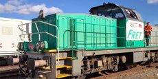 Le train des primeurs est reparti le 22 octobre de Perpignan en direction de Rungis, après deux années d'interruption.