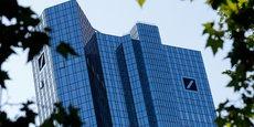 LE BÉNÉFICE NET DE DEUTSCHE BANK DÉPASSE LES ESTIMATIONS AU TROISIEME TRIMESTRE
