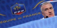 Didier Deschamps, entraîneur de l'équipe de France. / DR