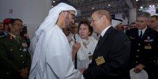 La relation de confiance entre le prince héritier d'Abu Dhabi, Sheikh Mohammed bin Zayed Al Nahyan, et le ministre de la Défense, Jean-Yves Le Drian, a relancé les projets entre Abu Dhabi et Paris