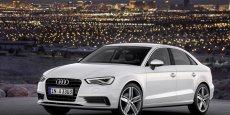 L'Audi A3 quatre portes est produite en Hongrie