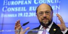 Martin Schulz, le président du Palement européen